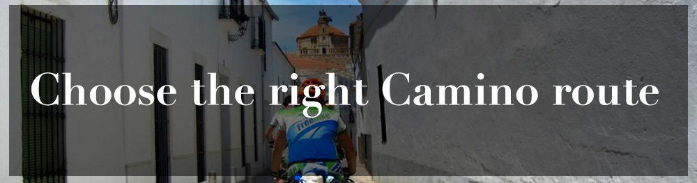 How to choose the right camino route?