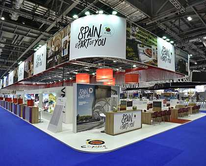 Living the Camino in WTM London 2016, Fitur 2017, Holiday World Show Dublín 2018 y Fitur 2018