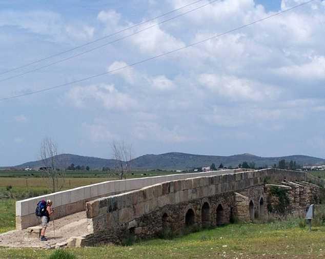 Garrovillas de Alconetar to Grimaldo (17 km)