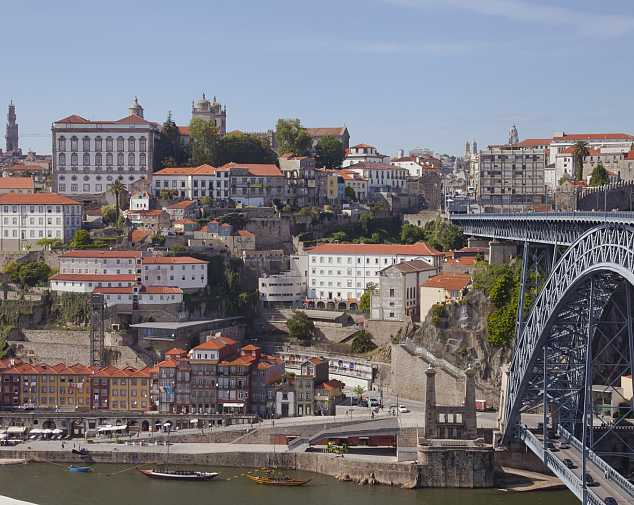 Oporto to Santiago de Compostela