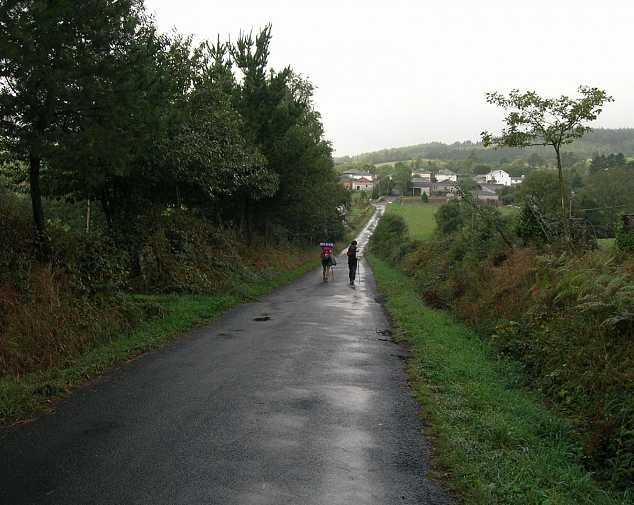 Day 3. Miraz - Sobrado (26 Km)