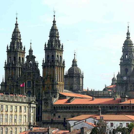 Day 7. Breakfast in Santiago de Compostela
