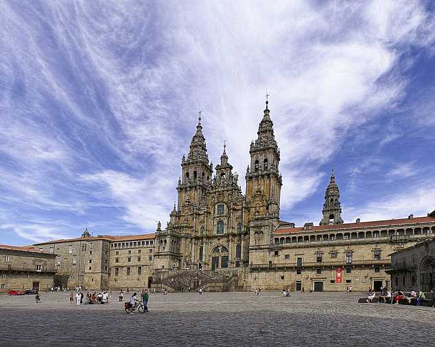 Day 8. Breakfast in Santiago de Compostela and end of services