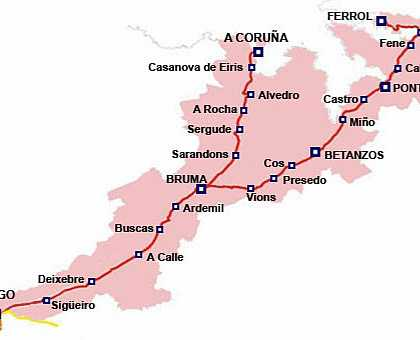 English Way Routes