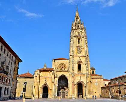 San Salvador Cathedral, Oviedo.